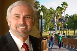 Guy Bailey, president of the new University of Texas-Rio Grande Valley.