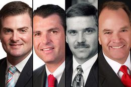 State Rep. Brandon Creighton, R-Conroe, insurance company president Gordy Bunch, former state Sen. Michael Galloway and state Rep. Steve Toth, R-The Woodlands, were the four initial candidates in a May 10 special election for Senate District 4. Creighton and Toth are heading to a runoff Tuesday.