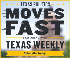 A promo ad for Texas Weekly