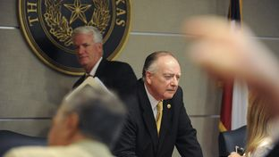 State Rep. Dan Flynn, R-Van, co-chair of the House Committee on Transparency in State Agency Operations, is shown calling an executive session on May, 12, 2014.