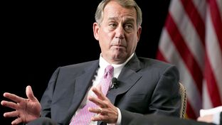 Former House Speaker John Boehner in San Antonio on May 12, 2014.