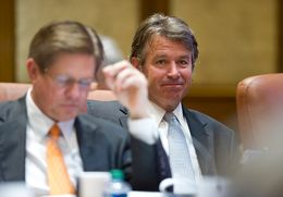 Regent Wallace L. Hall, Jr. of the University of Texas System at the regular meeting of the Board on May 15, 2014