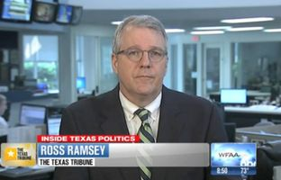 "Texas Tribune Executive Editor Ross Ramsey on WFAA-TV's ""Inside Texas Politics"" on May 25, 2014."