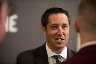 Comptroller candidate Sen. Glenn Hegar, R-Katy, after TribLive on May 29, 2014.