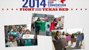 Debate over the immigration plank of the Republican Party of Texas' platform will be a key part of the GOP's convention in Fort Worth from June 5-7, 2014.
