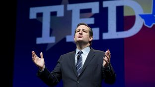 U.S. Sen. Ted Cruz spoke at the Republican Party of Texas Convention on June 6, 2014.