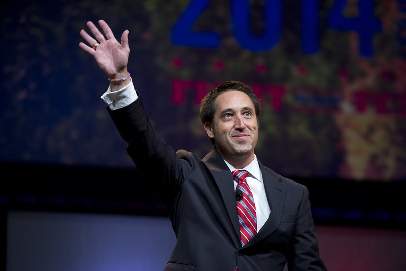 Glenn Hegar, who was elected state comptroller in November 2014, is shown at the State Republican Convention on June 6, 2014.