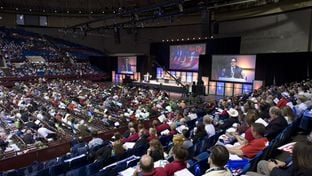 The Third General Session during platform debate at the Republican Convention, Fort Worth on June 6, 2014.