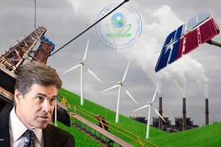 "Gov. Rick Perry has said that a new federal proposal to cut carbon emissions is ""the most direct assault yet on the energy providers that employ thousands of Americans."""