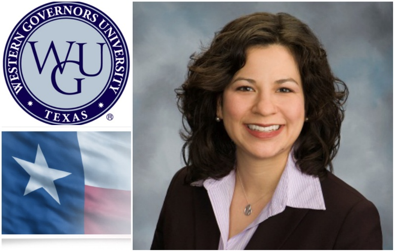 "Veronica ""Ronnye"" Vargas Stidvent, newly-named chancellor of Western Governor's University."