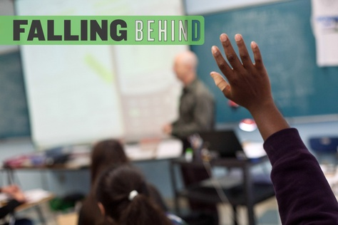 Texas' improvement on national academic measures has begun to stall in recent years. In 2013, for the first time in 15 years, math and reading scores went down or stayed the same for black and Hispanic students in both fourth and eighth grades. The scores also went down for Anglo students in some areas.