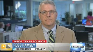 "Texas Tribune Executive Editor Ross Ramsey on WFAA-TV's ""Inside Texas Politics"" on July 27, 2014."