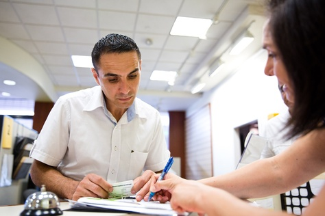 Iraqi refugee Mohammed al Mamoori used a Foundation Communities program, Insure Central Texas, for help signing he and his family up for health insurance earlier this year.