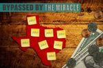 Between cities, school districts and counties, more than half of all Texans live in areas where the bill for taxpayer-supported debt, including expected interest, totals more than $1 billion, according to state data analyzed by The Texas Tribune.