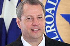 Railroad Commission Chairman David Porter.