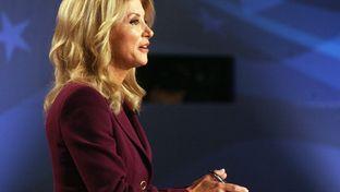 State Sen. Wendy Davis, D-Fort Worth, at a gubernatorial debate in Edinburg on Sept. 19, 2014.