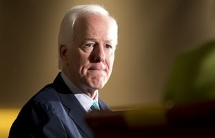 On Monday afternoon, KERA News sat down with Sen. John Cornyn in the Hart Senate Office Building to talk about new legislation he's sponsoring, Donald Trump — and Ted Cruz, his Texas colleague in the Senate who's running for president.