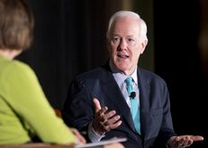 U.S. Sen. John Cornyn, R-Texas, at the Texas Tribune Festival on Sept. 20, 2014.