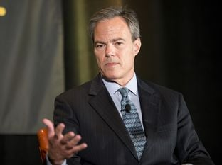 House Speaker Joe Straus is shown on Sept. 20, 2014, during an interview at The Texas Tribune Festival.