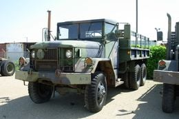 The M35 truck is an example of what is available to local, state and federal agencies through the federal government's 1033 program.