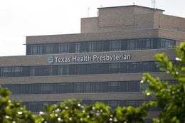An exterior view of Texas Health Presbyterian Hospital of Dallas on Oct. 1, 2014.
