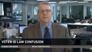 "Texas Tribune Executive Editor Ross Ramsey on WFAA-TV's ""Inside Texas Politics"" on Oct. 19, 2014, 2014."