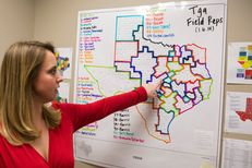 Sarah Floerke, deputy campaign manager for Greg Abbott's successful campaign for governor, oversaw an extensive field operation, spread out across Texas and costing $5 million to $6 million.