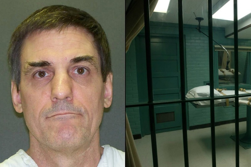 Death row inmate Scott Panetti.