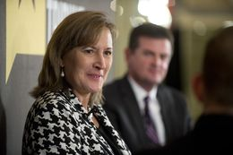 State Sen.-Elect Konni Burton, R-Colleyville, who replaced Sen. Wendy Davis, at TTEvents on Dec. 11, 2014.