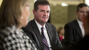 State Sen. Brandon Creighton, R-Conroe, at a Texas Tribune event in 2014.