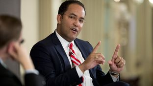 Congressman-elect Will Hurd answers a question during a Texas Tribune event on Dec. 18, 2014.