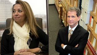 Irene Williams, CEO of 21CT, and Jack Stick, a top attorney at the Texas Health and Human Services Commission.