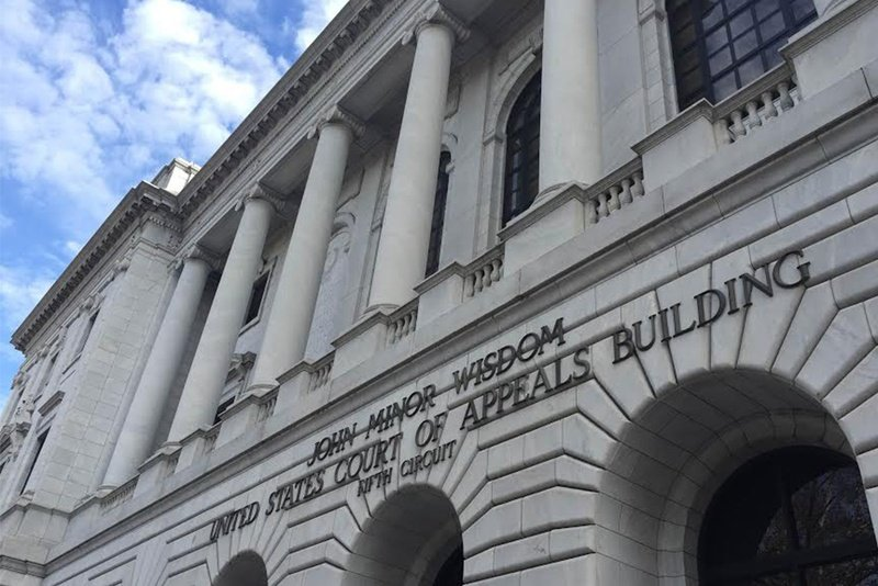 The U.S. 5th Circuit Court of Appeals building in New Orleans.