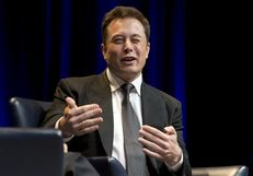 SpaceX and Tesla Motors CEO Elon Musk speaks at a TxDOT transportation forum on Jan. 15, 2015.