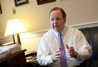 U.S. Rep. Bill Flores, R-Bryan, in his House office in Washington, D.C.