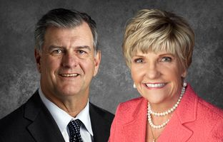 Dallas Mayor Mike Rawlings and Ft. Worth Mayor Betsy Price