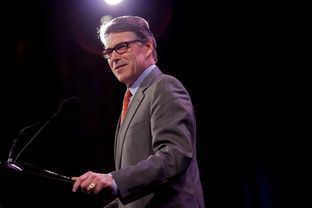 Former Texas Gov. Rick Perry spoke at the Iowa Freedom Summit in Des Moines on Jan. 24, 2015.