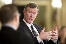 Chancellor Adm. William McRaven discusses his vision for the UT System at TTEvents on Feb. 5, 2015.