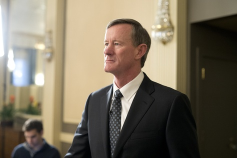 UT System Chancellor William McRaven at a Texas Tribune event on Feb. 5, 2015.