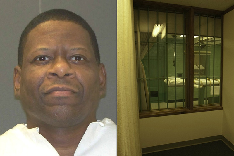 Death row inmate Rodney Reed, scheduled to be executed on March 5, 2015.