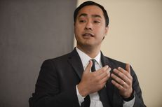 U.S. Rep. Joaquin Castro of Texas' 10th District talks about recent immigration issues at TTEvents on Feb. 19, 2015.
