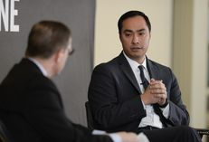 U.S. Rep. Joaquin Castro talks about the national 2016 political landscape during a TTEvents conversation with Evan Smith on Feb. 19, 2015.