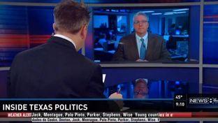 Texas Tribune Executive Editor Ross Ramsey on Inside Texas Politics on Feb. 22, 2015.