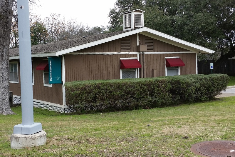This 25-year-old doublewide was supposed to be a temporary building for the Texas School for the Deaf's human resources department. It was found to have a severe rodent infestation.