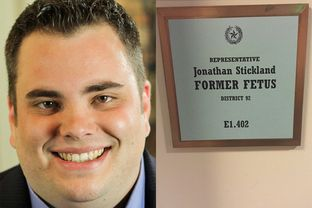 State Rep. Jonathan Stickland, R-Bedford.