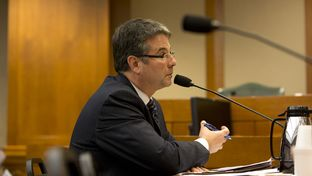 Sen. Charles Perry during a March 16th, 2015 Senate Subcommittee on border security