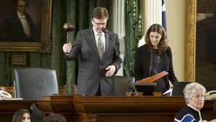 Lt. Gov. Dan Patrick after votes on first reading of SB #11 March 18th, 2015