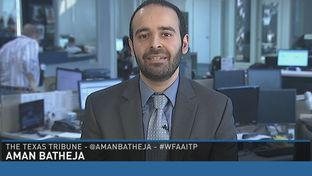 "Tribune reporter Aman Batheja on WFAA-TV's ""Inside Texas Politics"" on March 29, 2015."