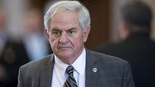 House Public Education Committee chair Jimmie Don Aycock, R-Killeen, on the floor during House Bill 1 debate March 31, 2015.
