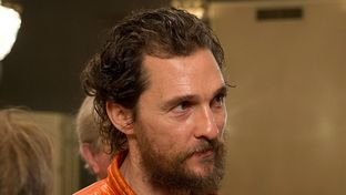 Matthew McConaughey at the Austin Club in Austin, Texas on Feb. 5, 2015.